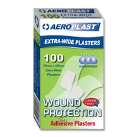 Plastic Dressing Strips Transparent Waterproof 2.5cm x 7.5cm (100) 10201009