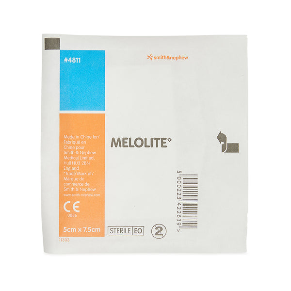 Melolite Low-Adherent Dressing 5cm x 7.5cm 10205015