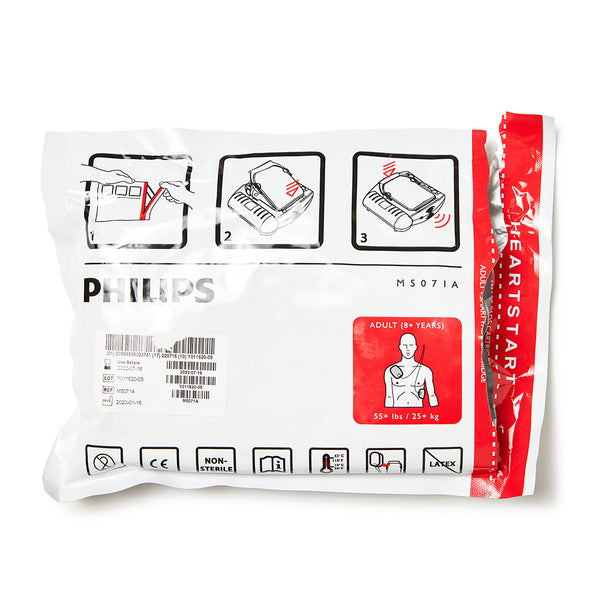 Philips Adult Smart Pads for HeartStart HS1 Defibrillator (AED) 11302102