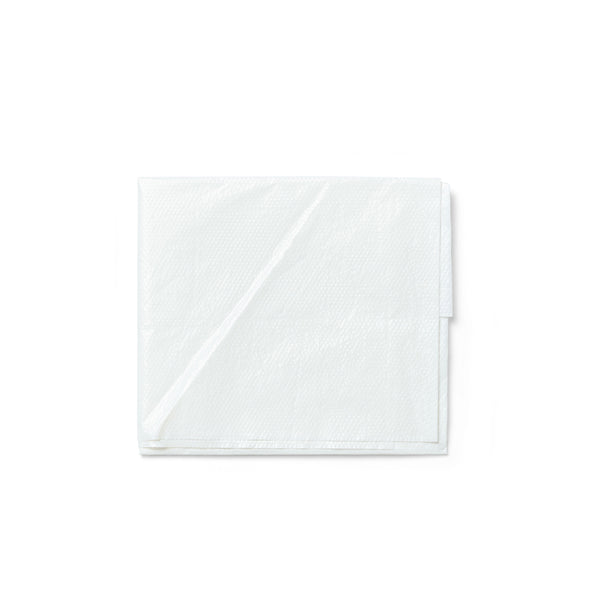 50 x Apron Disposable Plastic White 11101001 Bulk Buy