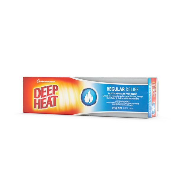 Deep Heat Regular Relief 140g 10801036
