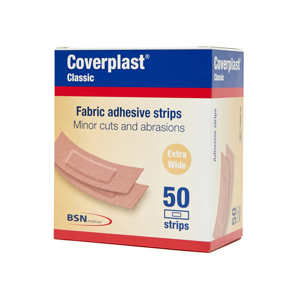 Fabric Dressing Strips 1.9cm x 7.2cm (50) 10202002