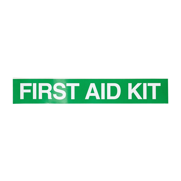 First Aid Sticker 25cm x 4cm 11101064