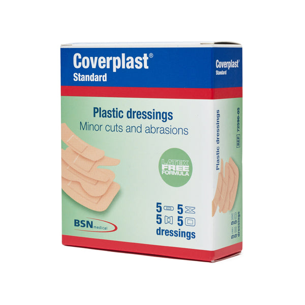 Plastic Dressings Assorted Latex Free (20) 10201003