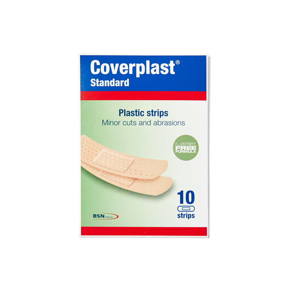 Plastic Dressing Strips Latex Free 1.9cm x 7.2cm (10) 10201001
