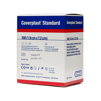 Coverplast Plastic Dressing Strips 1.9cm x 7.2cm 100 Box - Wide - Student First Aid