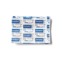 Coverplast Plastic Dressing Strips 1.9cm x 7.2cm 100 Box - Medium - Student First Aid