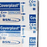 Coverplast Plastic Dressing Strips 1.9cm x 7.2cm 100 Box - Close - Student First Aid