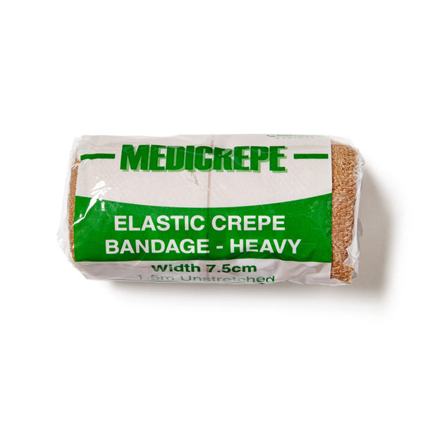 Elastic Crepe Bandage Heavy 7.5cm x 1.5m - Wide - Student First Aid