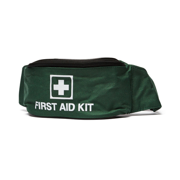 First Aid Kit Waist Bag Green Empty - Wide - Student First Aid