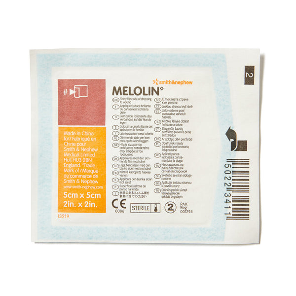 Melolin Non-Adherent Dressing 5cm x 5cm - Wide - Student First Aid