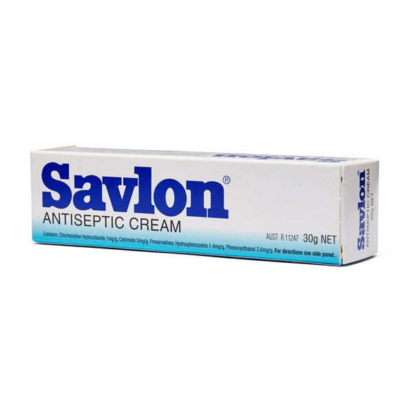 Savlon Antiseptic Cream Tube 30g - Wide - Student First Aid