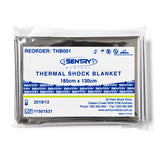 Thermal Shock Blanket 185cm x 130cm - Wide - Student First Aid