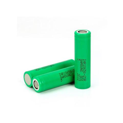 Samsung 25r Battery - 20A 2500mah 18650 (Green)
