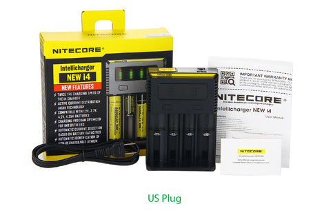 i4 Nitecore Charger (4 bay)
