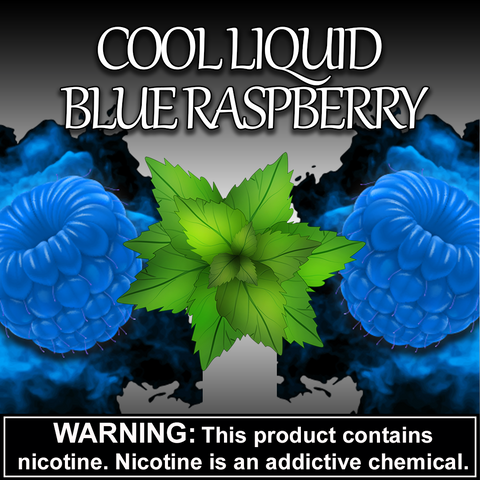 Cool Liquid Blue Raspberry