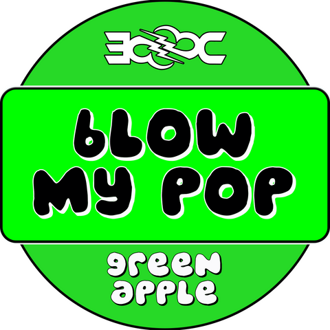 Green Apple Blow My Pop