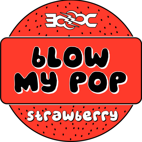 Strawberry Blow My Pop