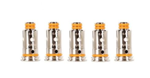 GEEKVAPE G REPLACEMENT COIL (5 PACK) [FITS AEGIS POD/WENAX]