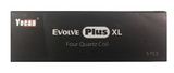 YOCAN EVOLVE PLUS XL QUAD QUARTZ REPLACEMENT COILS (5 PACK)