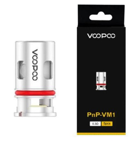 Voopoo Replacement Coils for Drag Baby Tank/VINCI Kit/VINCI X Kit/Navi Kit/PnP 20/PnP 22/VINCI AIR Kit/Drag S Kit/Drag X Kit/Drag Mini Kit/Drag 2 Kit /V.SUIT/Argus Pro/Argus(5Pcs/Pack)