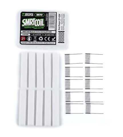 Wotofo SMRT PnP Meshed-Cotton Set (10pcs/pack)