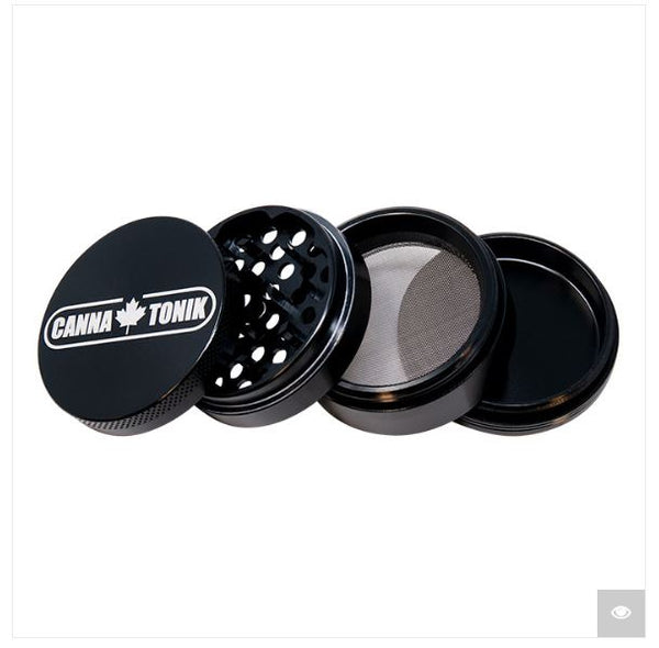 Cannatonik Black Aluminium Grinder 56mm