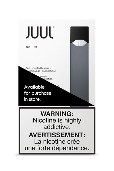 JUUL C1 Device ***At Checkout choose In-Store Pickup Only, No Shipping Offered for Juul Products***