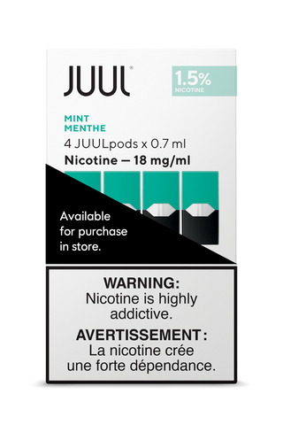 Juul Pods 4pk ***At Checkout choose In-Store Pickup Only, No Shipping Offered for Juul Products***