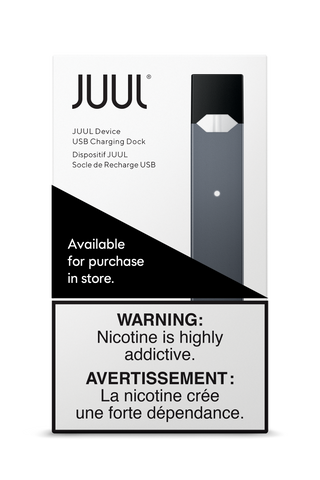 Slate JUUL Device ***At Checkout choose In-Store Pickup Only, No Shipping Offered for Juul Products***