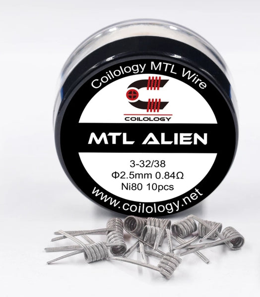 Coilology MTL Alien prebuilt 10pcs/box