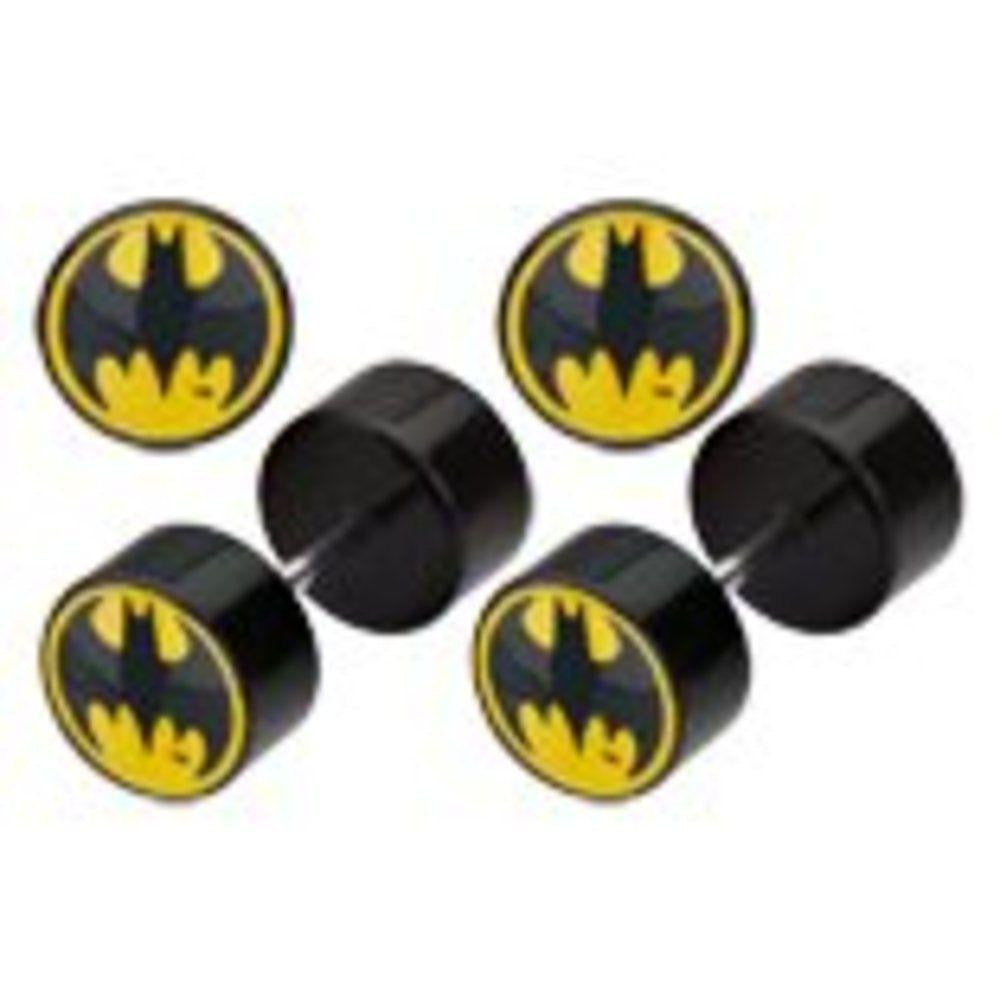 Earrings Rings Fake Batman Cheater Plug 16 gauge - Sold as a pair
