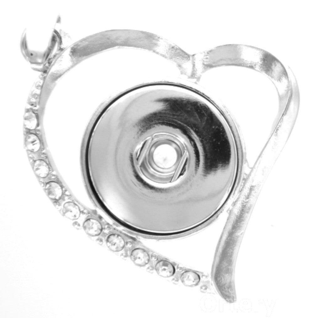 Pendant Heart for  charms Interchangable Jewelry