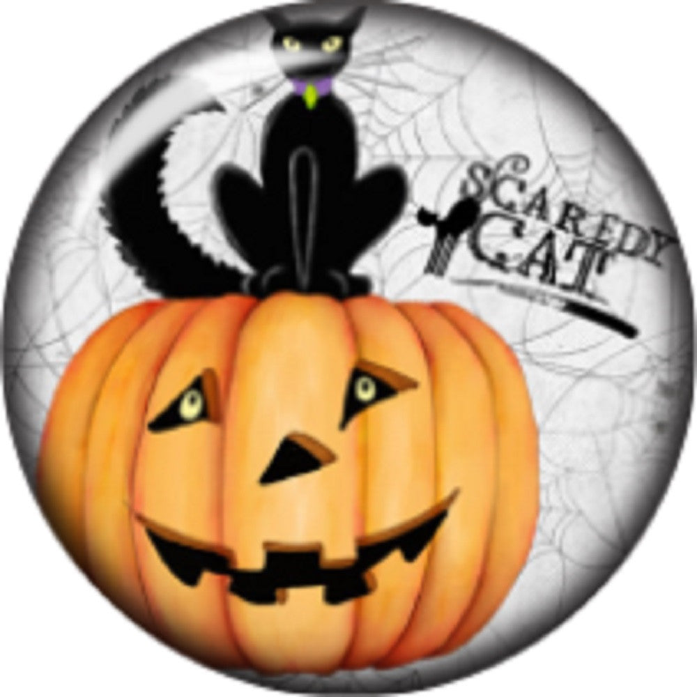Snap button Halloween Witch hat 18mm charm chunk interchangeable