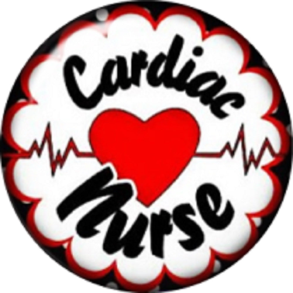 Snap button CN Cardiac Nurse 18mm charm chunk interchangeable