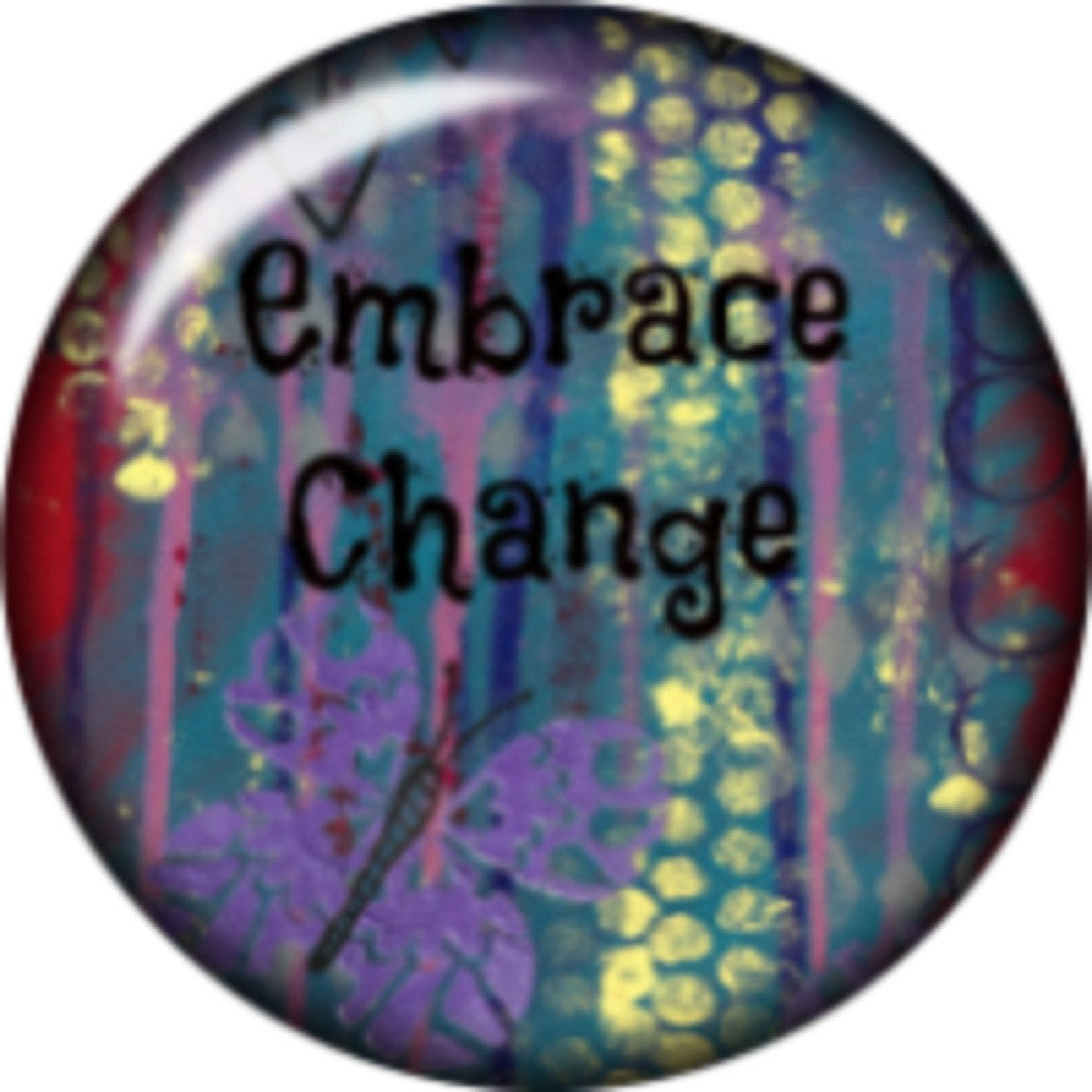 Snap button Embrace change 18mm Cabochon chunk charm
