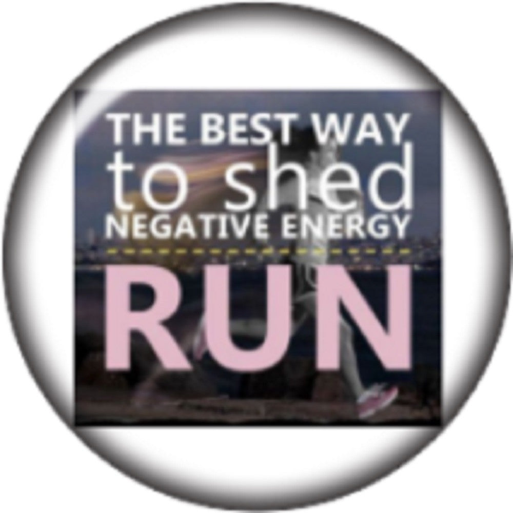 Snap button Best way to shed negative energy run 18mm Cabochon chunk charm