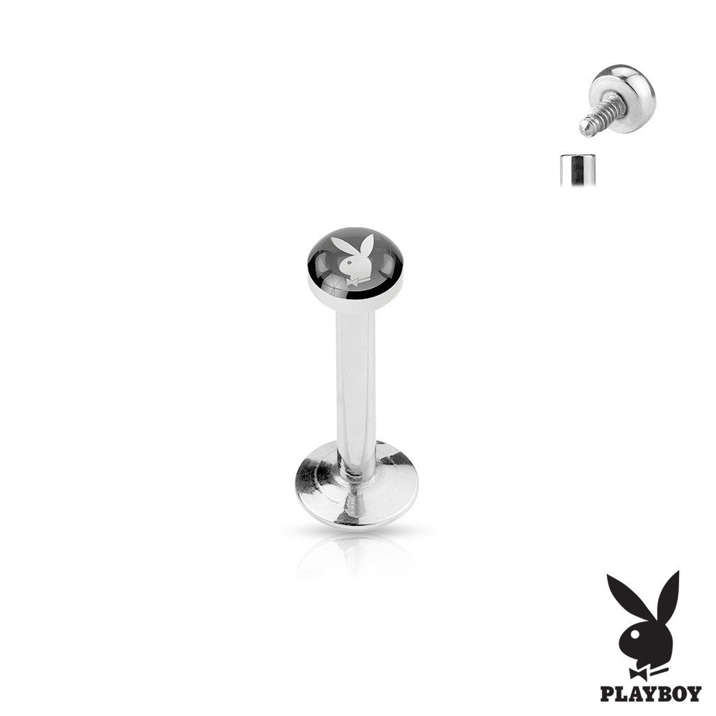 Labret Monroe Cartiledge 16g 316L Stainless Steel Shaft Playboy Body Accentz? 5/16''