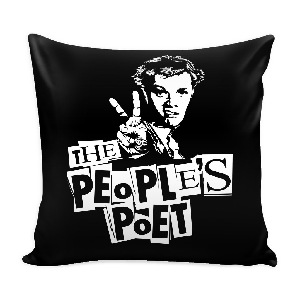 The People's Poet Pillow Case