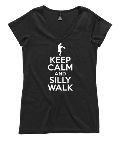 Keep Calm And Silly Walk