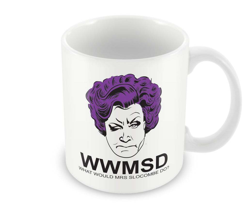 What Would Mrs Slocombe Do- Mug