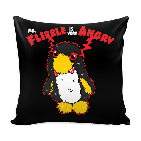 Mr. Flibble Is Very Angry Pillow Case