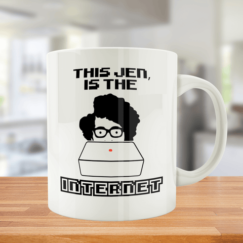 This Jen.. Is The Internet - Mug