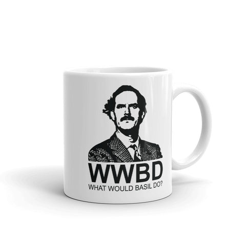 What Would Basil Do Mug