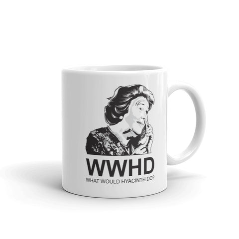 What Would Hyacinth Do Mug
