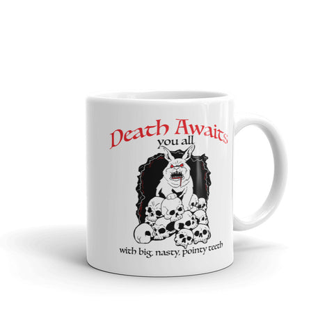 Death Awaits You All Mug