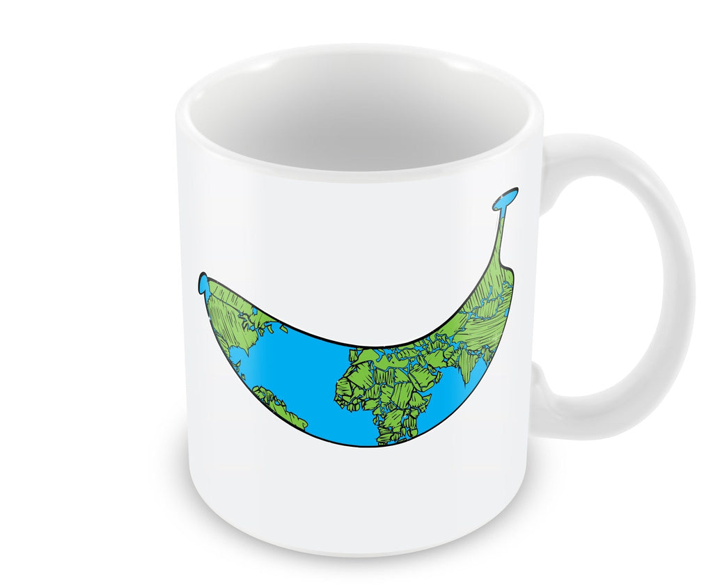 Mug - Banana Shaped Earth Mug