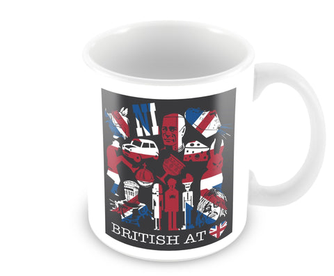 British at Heart Mug