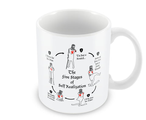 Five stages of self realization Mug