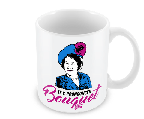 It's Pronounced Bouquet Mug